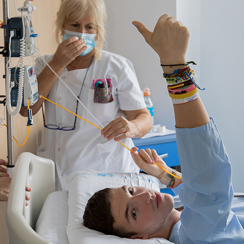 CRIS Contra el Cáncer, trabajo con pacientes