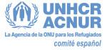 Logotipo de ACNUR, ONG de Legado Solidario