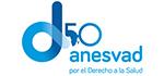 Anesvad, logotipo 50 aniversario